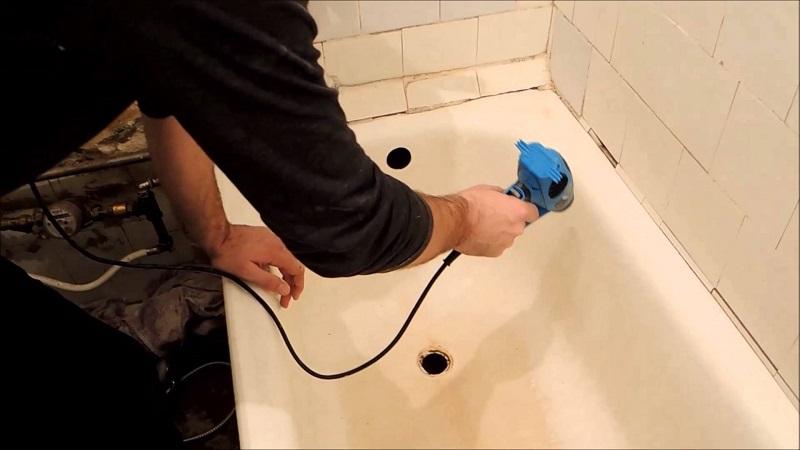 Просушка ванны