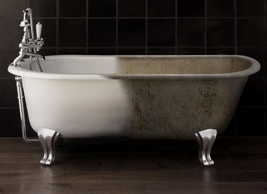 Закрашивание ванной
