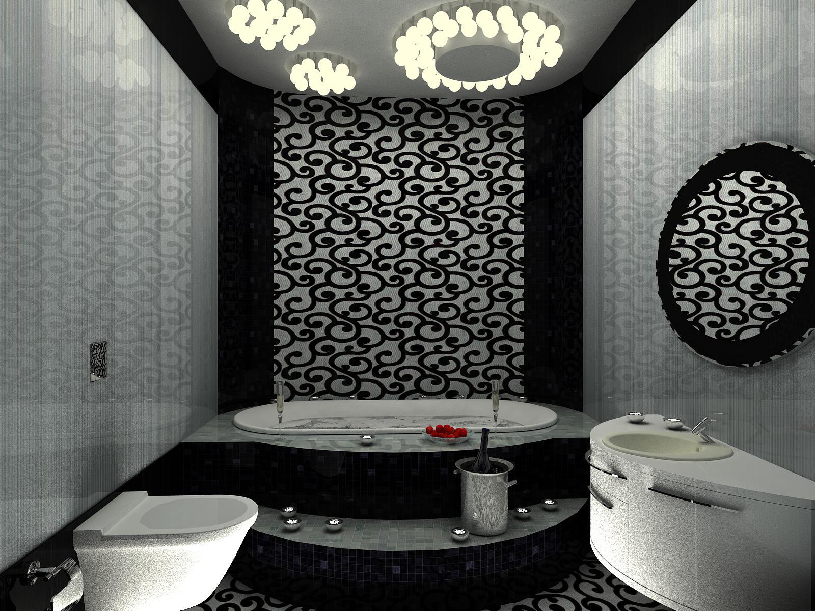 Черно-белый дизайн