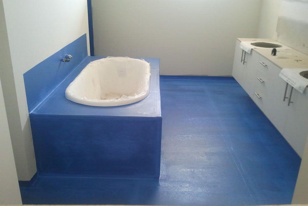 Гидроизоляция ванны под покраску наливные полы ооо апельсин