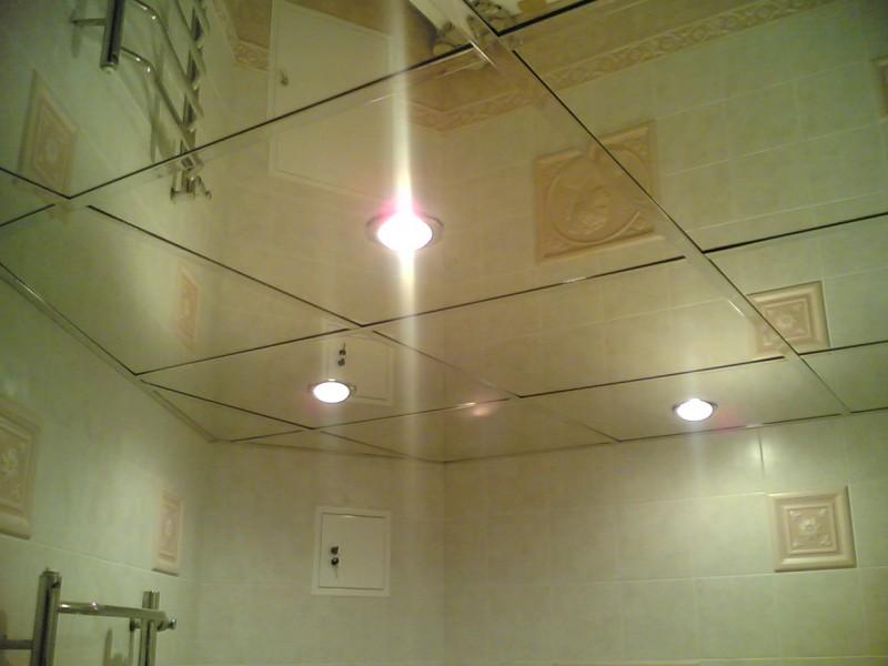 Разновидность подвесного потолка