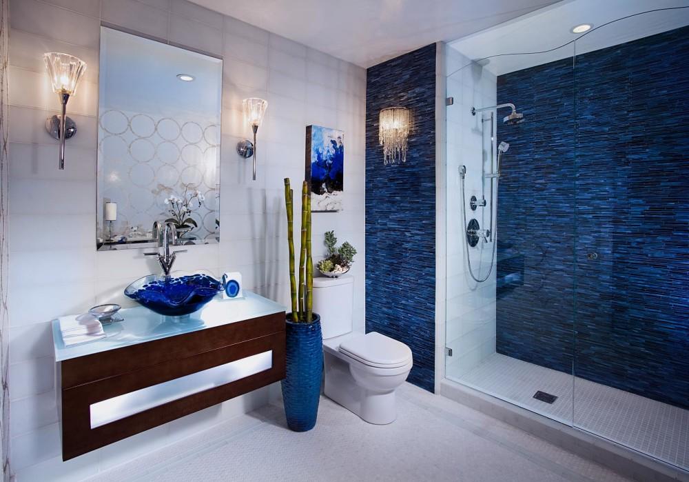 Средиземноморский стиль в ванной