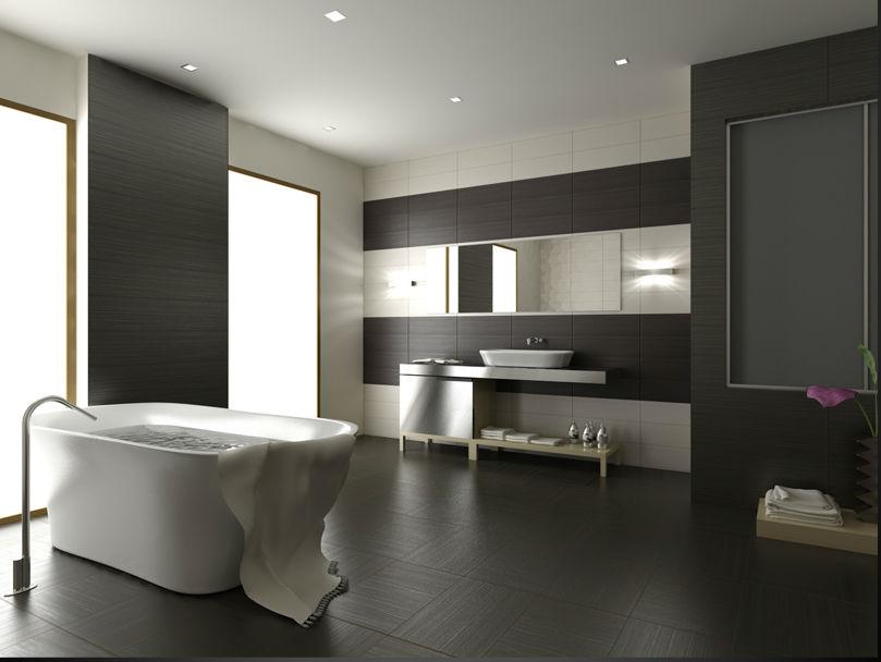 Аскетичная ванная