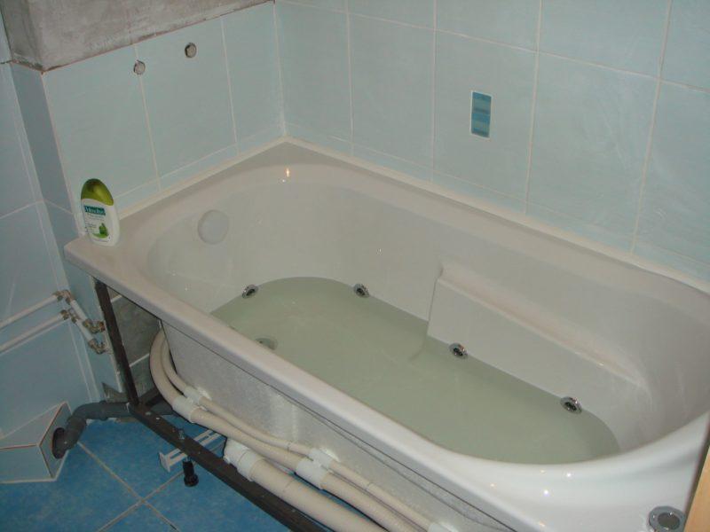 Засор в ванне