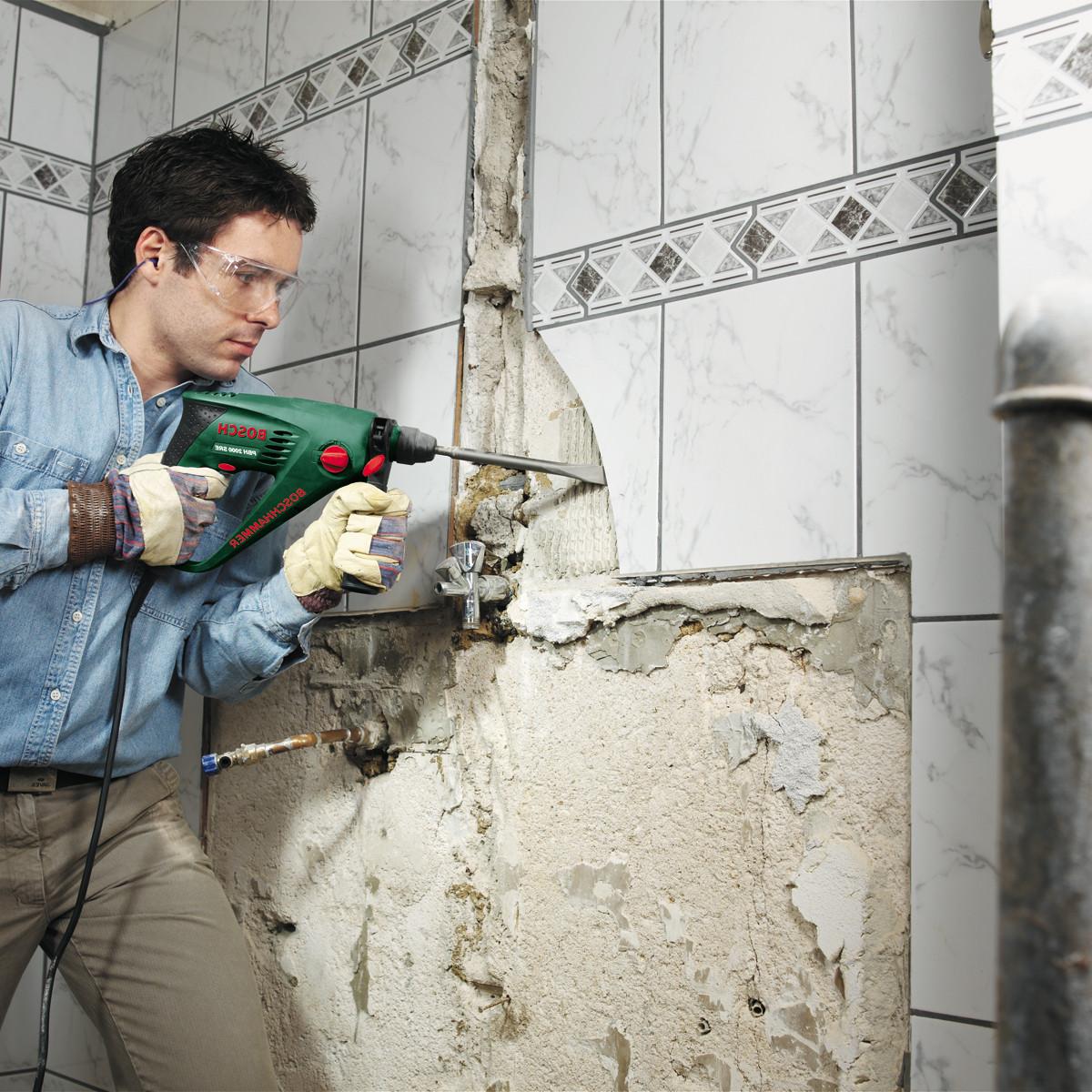 Как подготовить стены под плитку в ванной