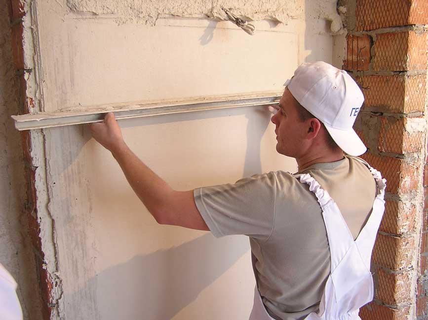 Подготовка стен к укладке плитки