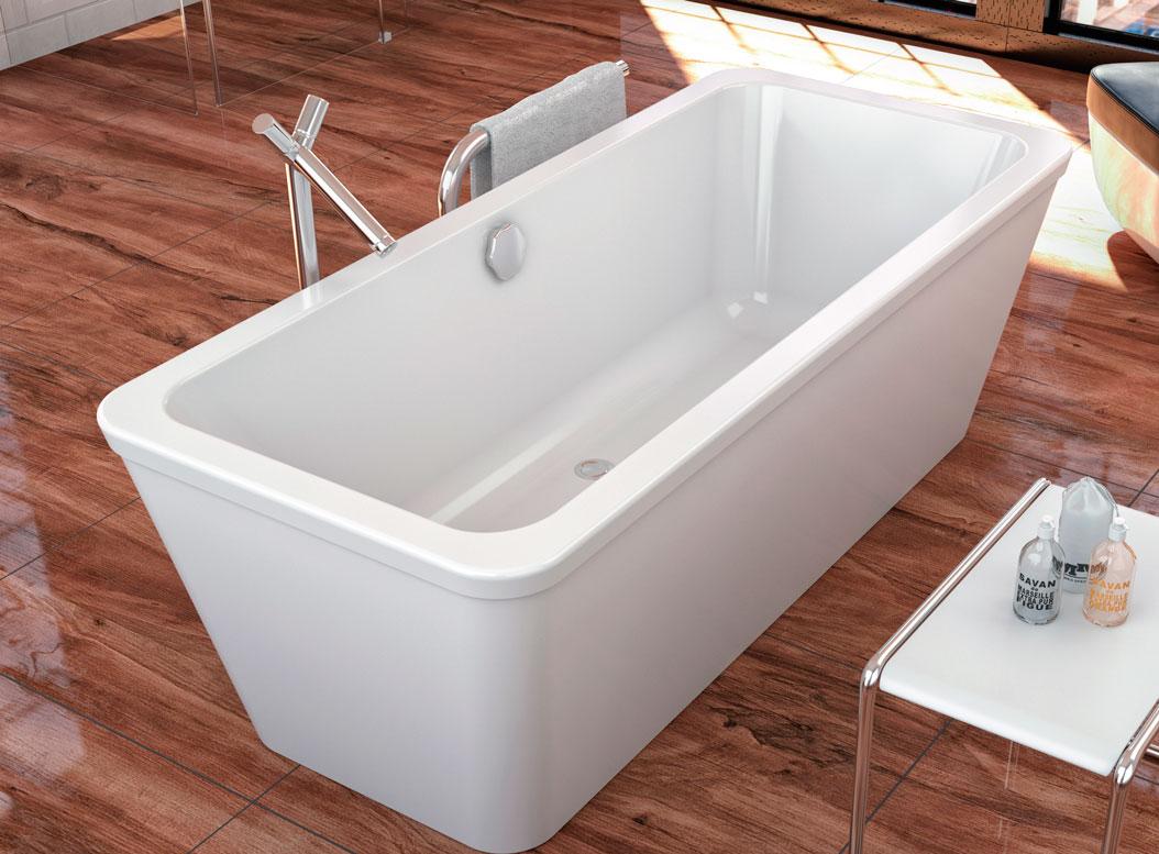 Современная акриловая ванна