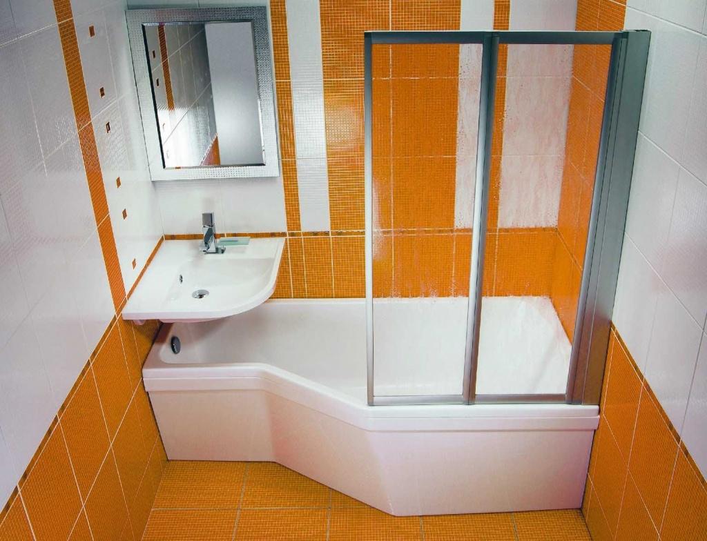 Идея маленькой ванной