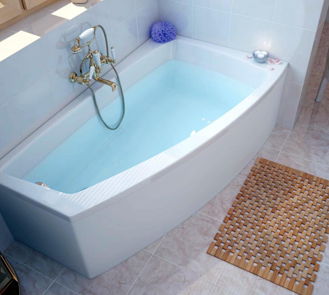 Компактная акриловая ванна
