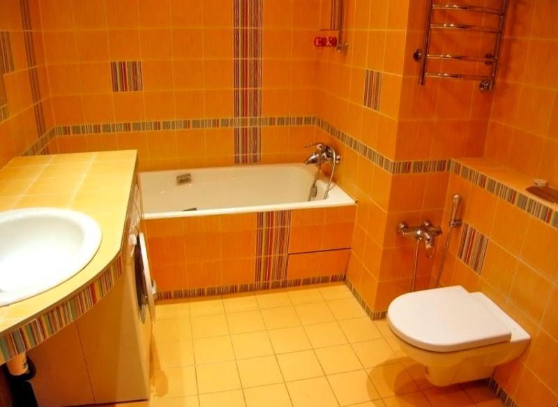 Яркая ванная