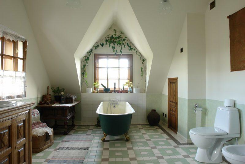 Дизайн ванны прованс
