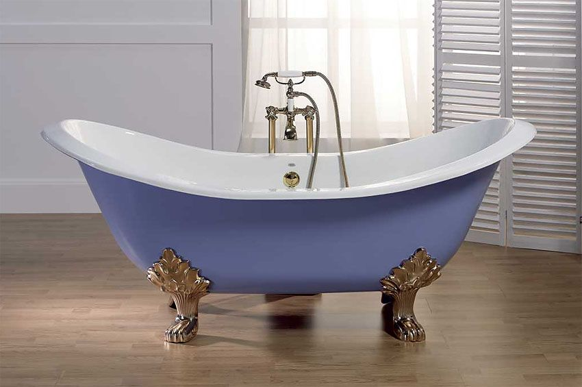 Высота ванны