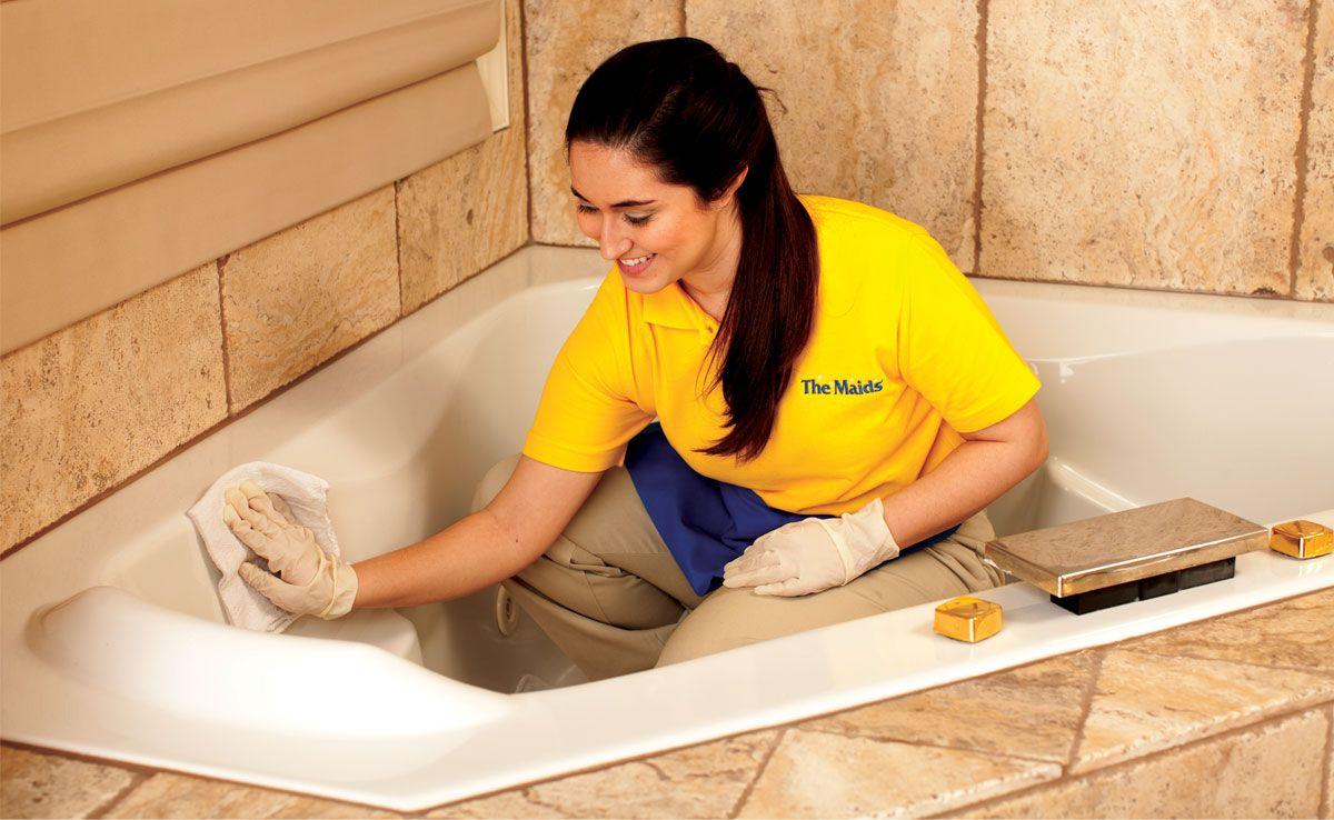 Чистка ванны дома