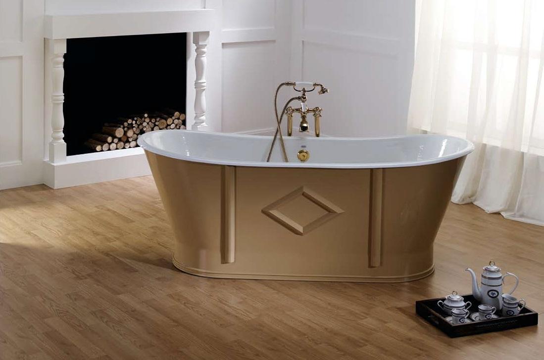 Дизайн чугунной ванны