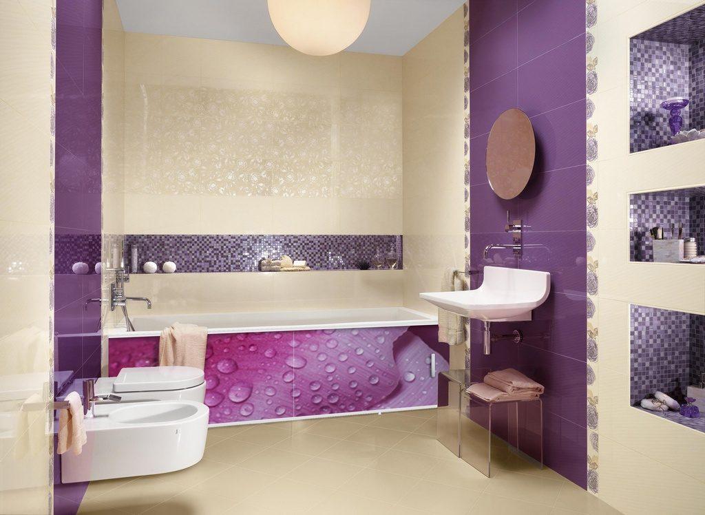 Экран для ванны с рисунком