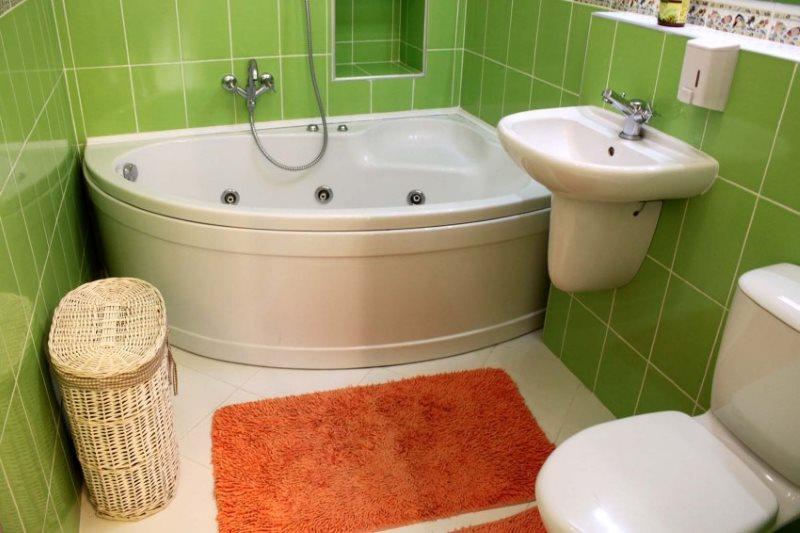 обустройство ванной 2м2